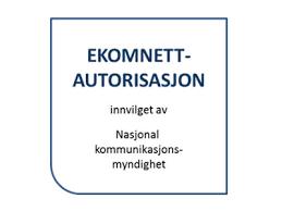 Ekomnett-autorisasjon emblem